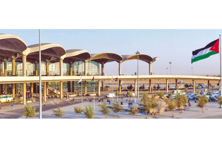 الأردن: عراك في المطار