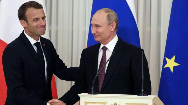 أهم القضايا الدولية تتصدر اجتماع بوتين وماكرون في فرنسا