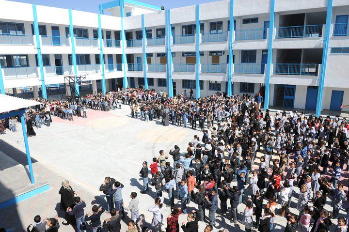 """مشعشع: """"الأونروا"""" ستفتتح العام الدراسي الجديد رغم كافة التحديات"""