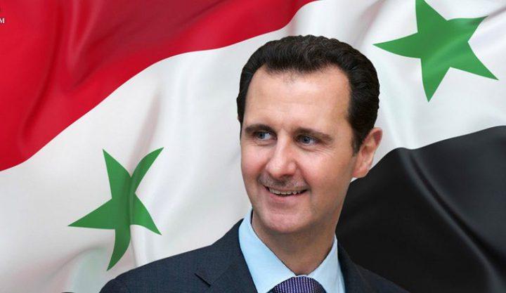 الأسد يعلن عن تغيرات ايجابية في الوضع العسكري والسياسي في سوريا