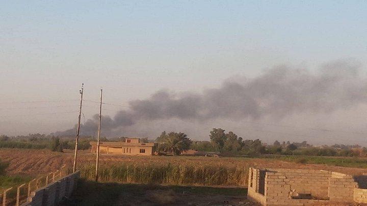 العراق.. تفجيرات تستهدف مخازن أسلحة و قاعدة جوية