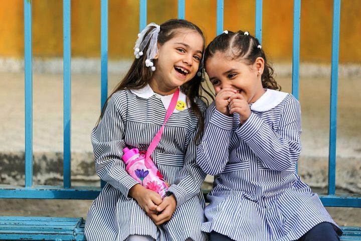غزة.. عام دراسي جديد وزي مدرسي قديم
