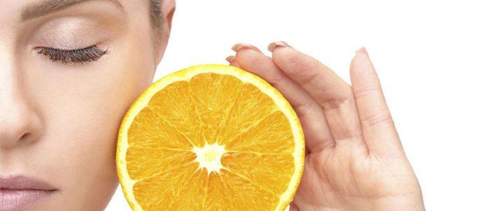 فيتامين C لبشرة متوهجة