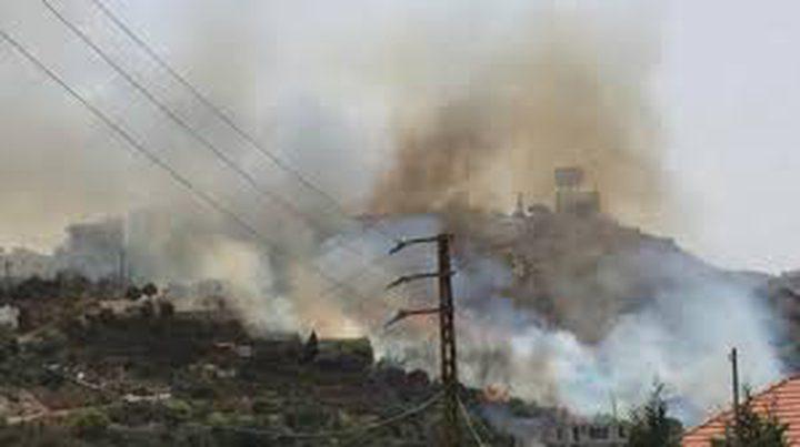 بسبب ارتفاع الحرارة: حرائق في عدة مناطق مختلفة من لبنان