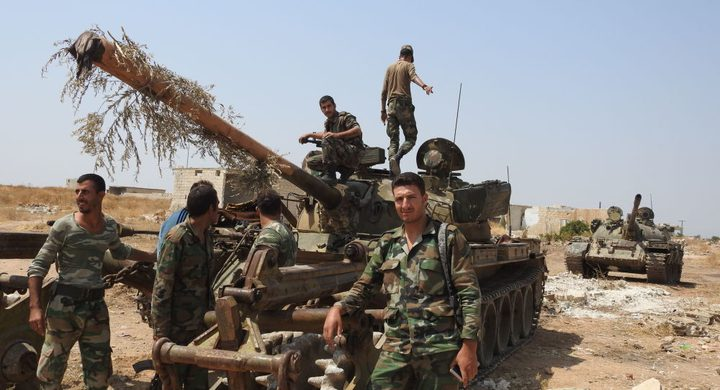 """""""خان شيخون"""" السورية آمنة بعد سنوات من القتال والمعارك"""