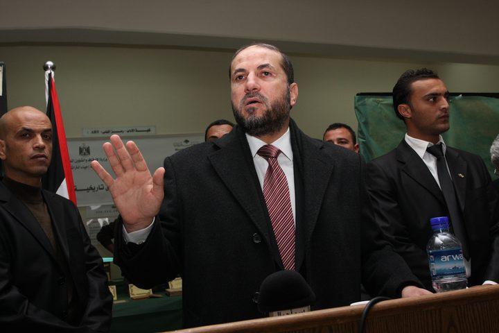 الهباش يصف من يدعم هجرة سكان غزة بالاحمق