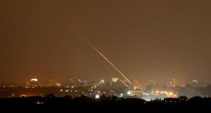 الاحتلال يزعم سقوط صاروخ بمستوطنات غلاف غزة