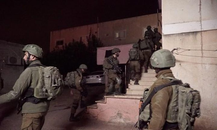 الاحتلال يقتحم منزل اسير محرر جنوب جنين