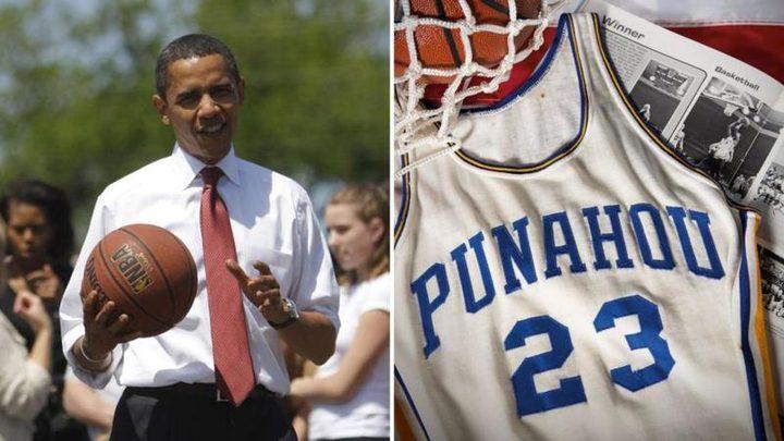 """بيع قميص لـ""""أوباما"""" بـ120 ألف دولار"""