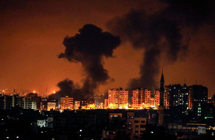 طائرات الاحتلال تستهدف موقعا للمقاومة جنوب غرب مدينة غزة