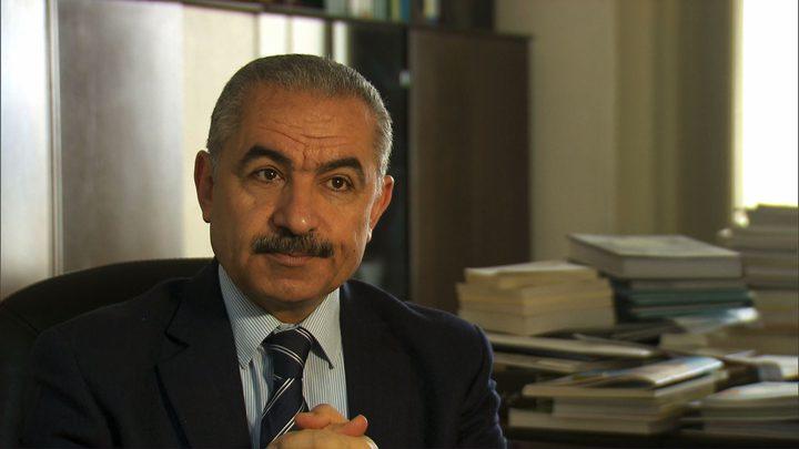 اشتية يستقبل ممثل UNDP في فلسطين روبيرتو فالينت