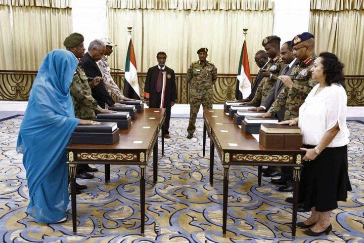 المجلس السوداني يعقد سلسلة اجتماعات عقب تشكيله