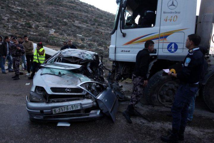 256 حادث سير نتج عنه مصرع 3 أشخاص واصابة 215 الأسبوع الماضي