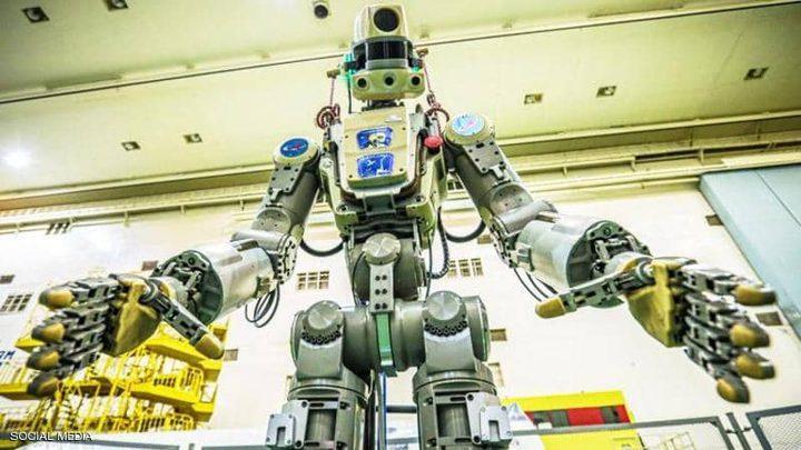 أول روبوت بشري روسي يرسل لمحطة الفضاء الدولية