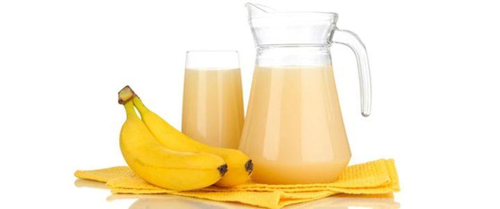 عصير الموز وفوائده الصحية
