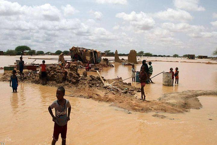 وفاة 54 شخصا جراء فيضانات في السودان