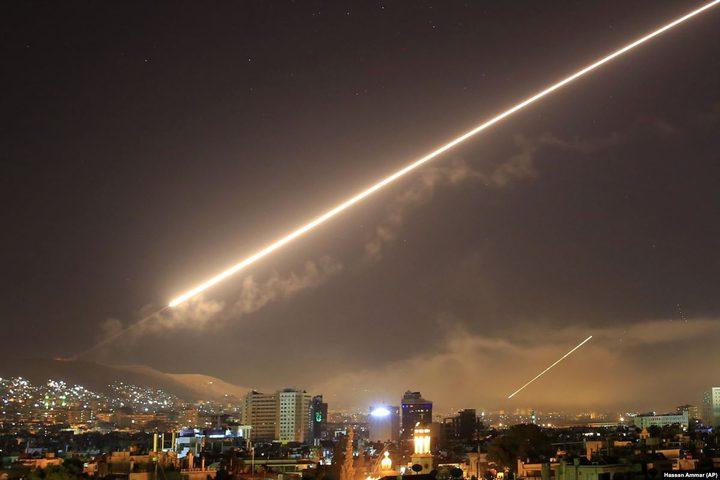 عدوان إسرائيلي على دمشق والدفاعات الجوية السورية تتصدى