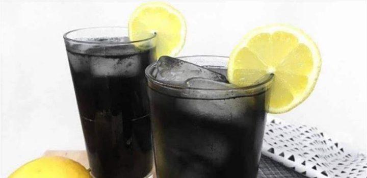 الليموناضة السوداء تساعدكم على التخلص من البطن