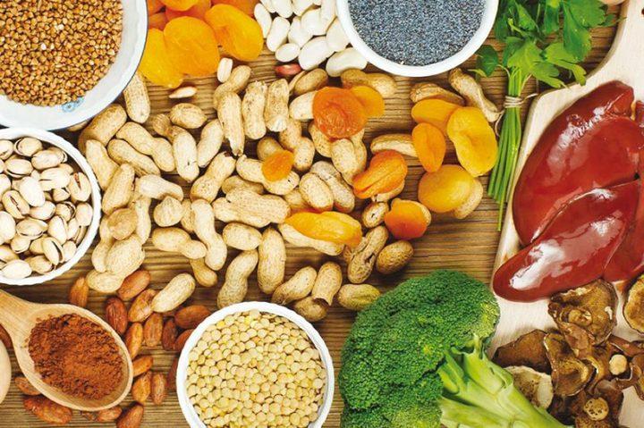 أطعمة تمنح جسمك معدلاً طبيعياً من عنصر الحديد