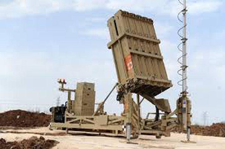 الاحتلال ينشر القبة الحديدية شمال فلسطين المحتلة