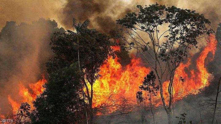 حرائق الامازون مستمرة والبرازيل ترسل الاف الجنود لمكافحتها