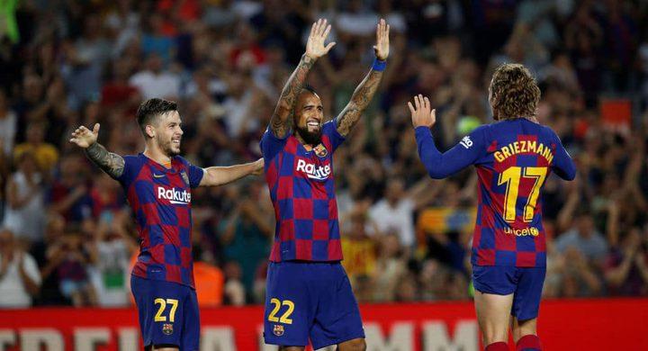 برشلونة يتفوق على ريال بيتيس رغم غياب ميسي وسواريز
