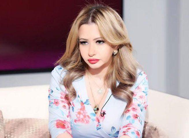 """""""صورة"""" الإعلامية الكويتية مي العيدان تجري عملية تكميم المعدة"""