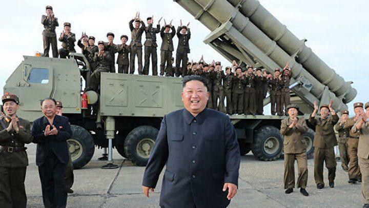 كوريا الشمالية تكشف عن منصتها الجديدة لقذف الصواريخ