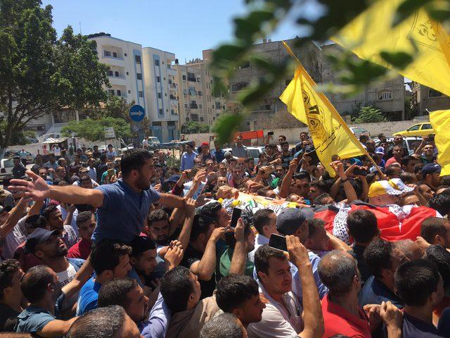 غزة تودع شهيد الغربة تامر السلطان