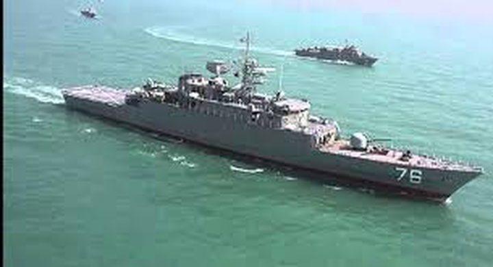"""إيران ترسل """"مدمرة"""" إلى خليج عدن"""