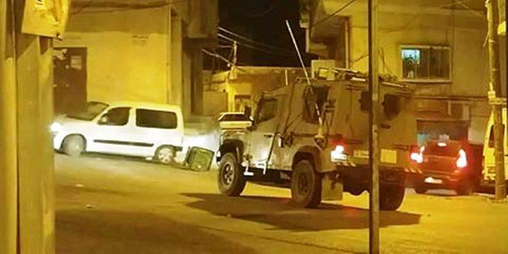 الاحتلال يزعم العثور على عبوة ناسفة مزروعة قرب نابلس