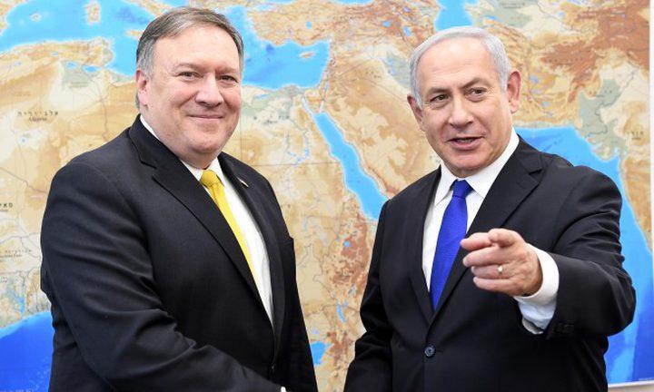"""الولايات المتحدة تؤكد دعمها """"لإسرائيل"""" في عملياتها في سوريا"""