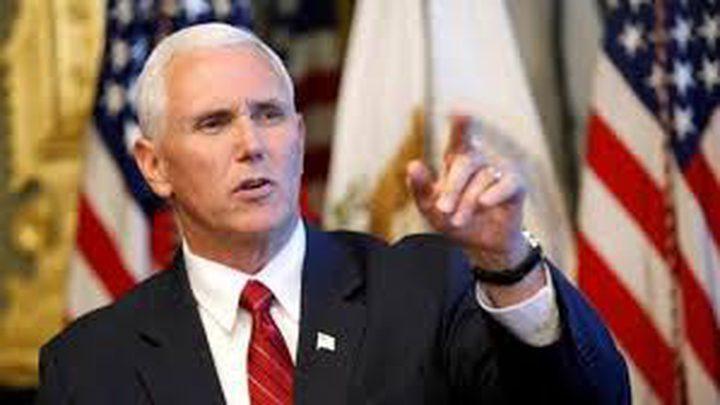 نائب الرئيس الأمريكي يؤكد دعم أمريكا لإسرائيل بكل السبل