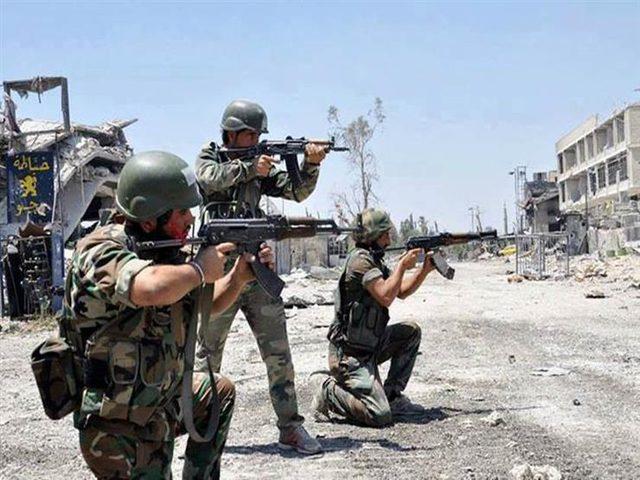 اشتباكات بين الجيش السوري وفصائل مسلحة في خان شيخون