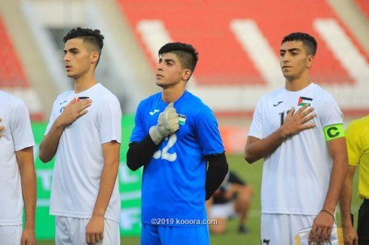 المنتخب الفلسطيني يتأهل لنصف نهائي بطولة غرب آسيا للشباب