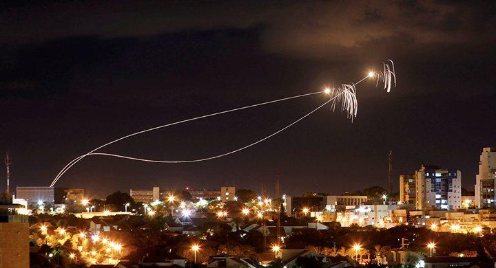 الاحتلال يزعم إطلاق صاروخ من غزة