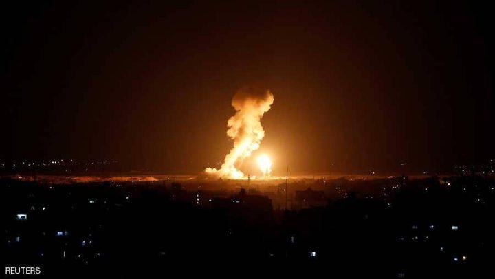 الاحتلال يقصف مرصدًا للمقاومة شمال قطاع غزة