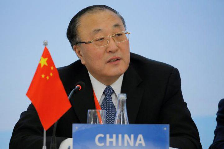 الصين تطالب بإقامة دولة فلسطينية كاملة السيادة