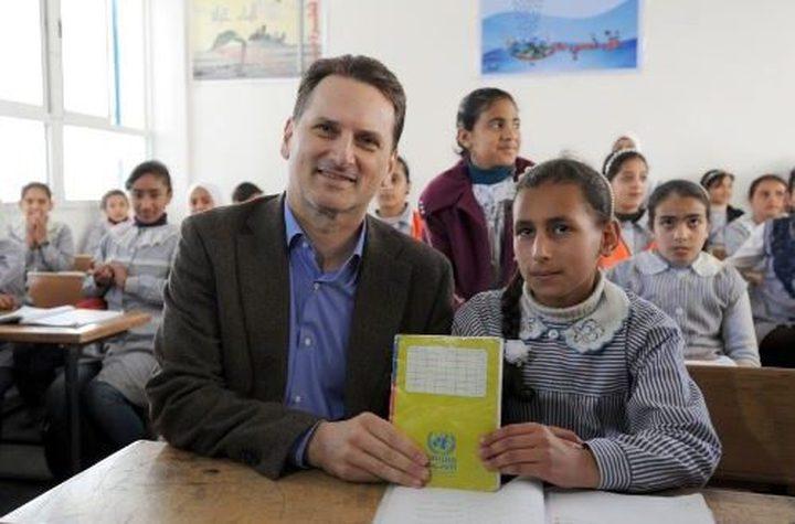 كرينبول: التزام فريد وقوي من اللاجئين الفلسطينيين تجاه التعليم