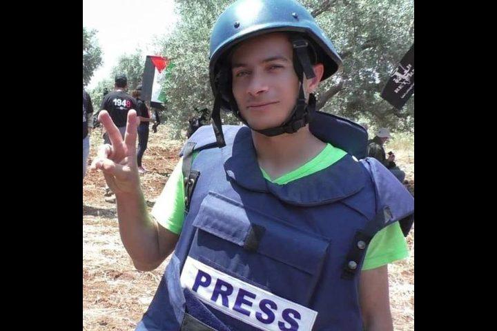 اعتقال المصور حسن دبوس من قرية نعلين غرب رام الله
