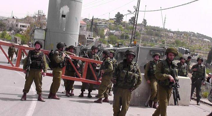 الاحتلال ينصب حاجزا جنوب نحالين غرب بيت لحم