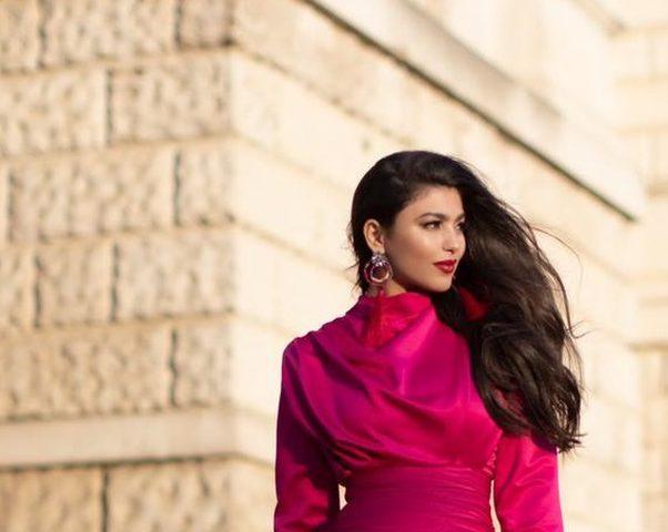 الفنانة بشرى تستعد لاطلاق أول أغنية لها باللهجة المغربية