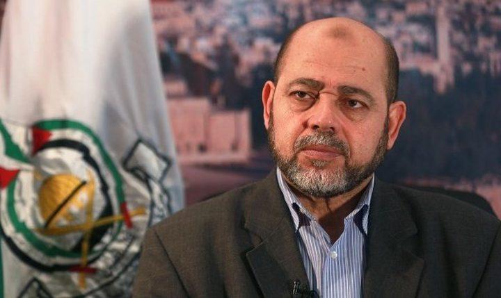 أبو مرزوق: اعتقلنا الخلية التي قامت بالتفجيرات الأخيرة