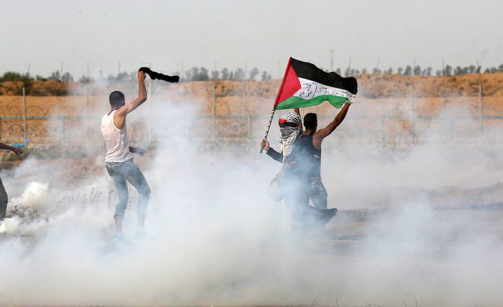 إصابات بالرصاص وبالإختناق شرق قطاع غزة
