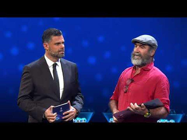 ايرك كانتونا يحصل على جائزة رئيس الاتحاد الاوروبي لكرة القدم