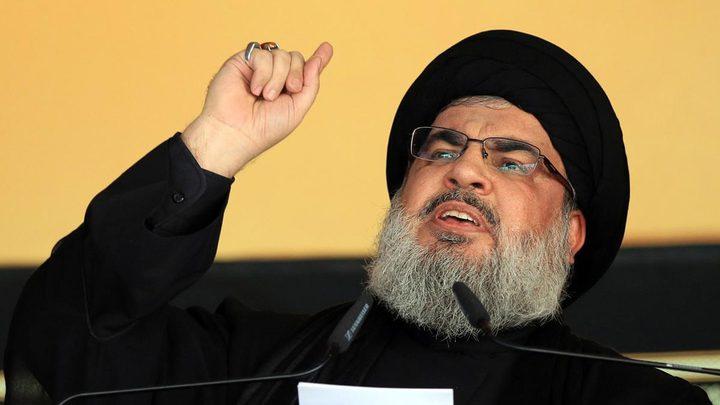 نصرالله: الرد سيكون من لبنان ولدينا من الصواريخ الدقيقة ما يكفينا