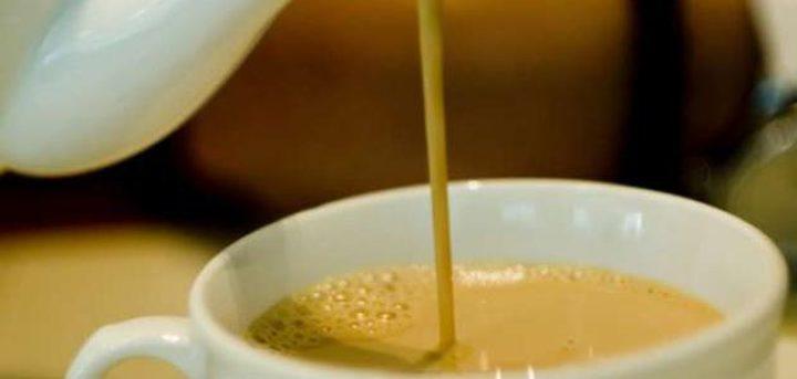 الحليب والشاي لحرق الدهون