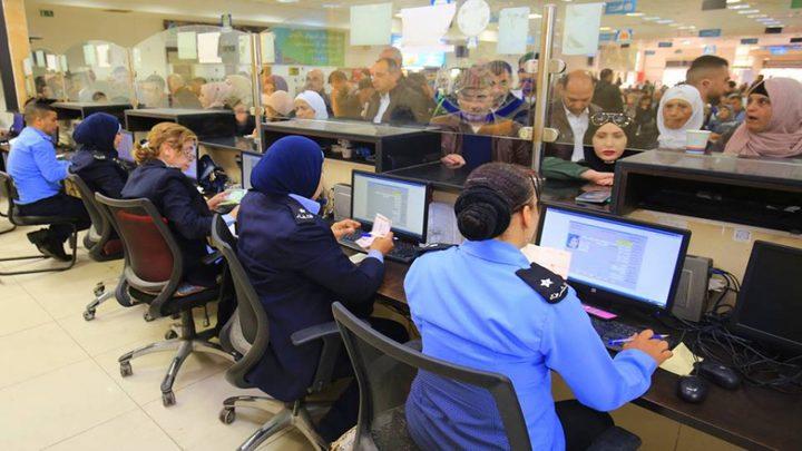 الشرطة: 57 ألف مسافر تنقلوا عبر معبر الكرامة الأسبوع الماضي