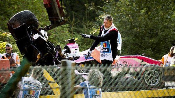 """وفاة سائق فرنسي في حادث بـ""""فورمولا 2"""""""