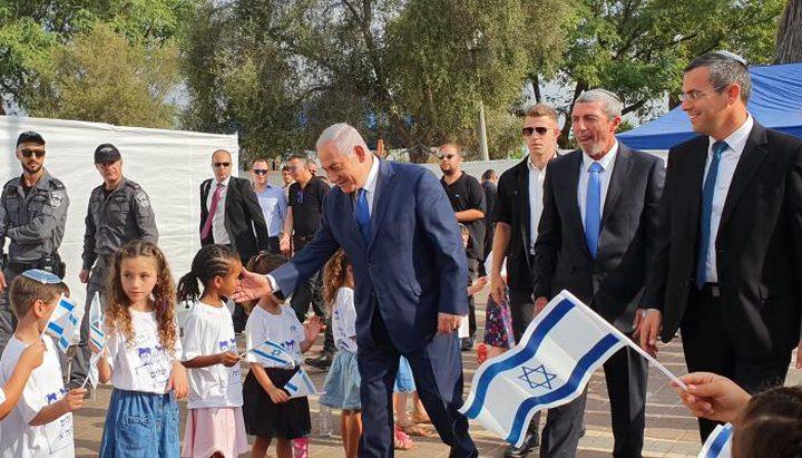 نتنياهو: سنفرض السيادة الاسرائيلية على الضفة والمستوطنات باقية